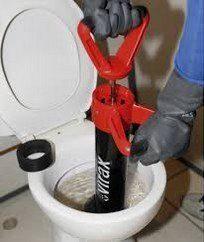 Debouchage wc avec pompe hydraulique