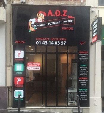 Boutique plombier AOZ Paris 750 12