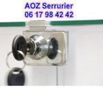 Pour vitrine serrurier paris 12 vous propose le serrure avec le garantie constructeur 5ans