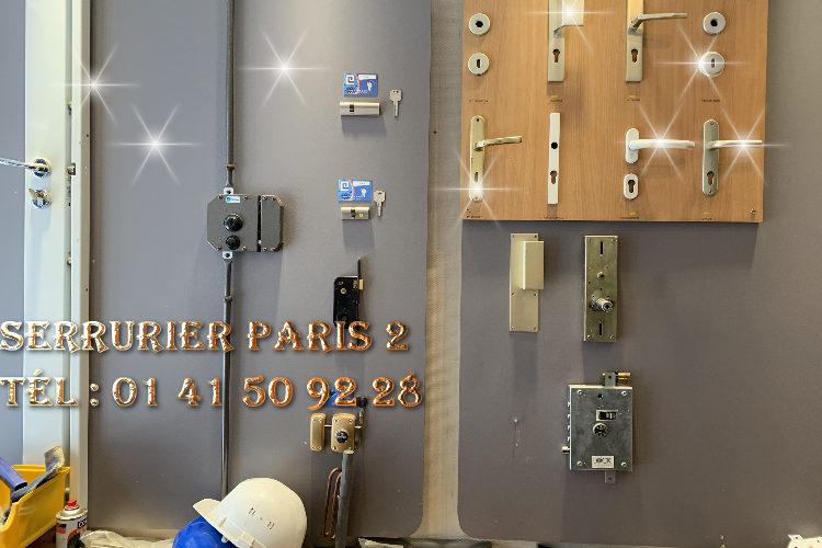 Serrurier Paris 2 urgence