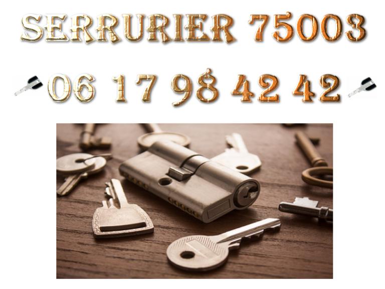 Serrurier 75003